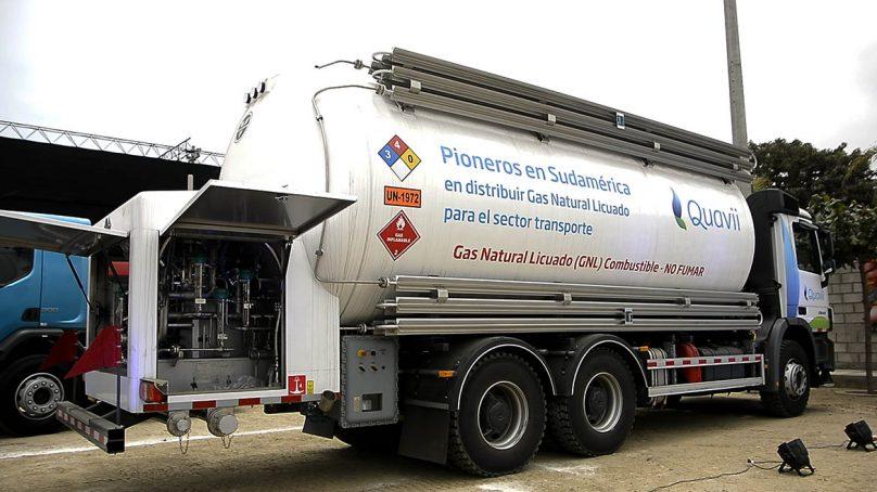 La apuesta de Quavii por el transporte pesado con GNL