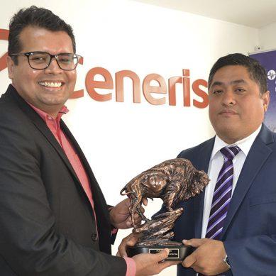 Ceneris recibe reconocimiento por ser el mejor distribuidor regional de PCB Piezotronics