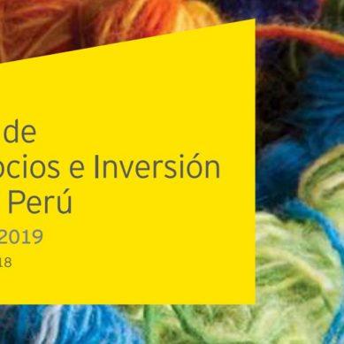 """EY Perú y el MRE presentan la nueva edición de la """"Guía de Negocios e Inversión en el Perú"""""""