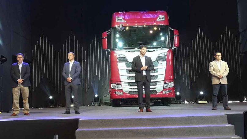 Scania presentó su nueva generación de camiones en Perú