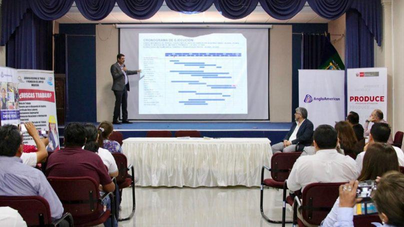 Organizan convención para facilitar intercambio comercial entre mipyme y proyecto Quellaveco