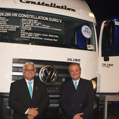 Volkswagen presenta su renovada línea de camiones VW Euro 5 en el Perú