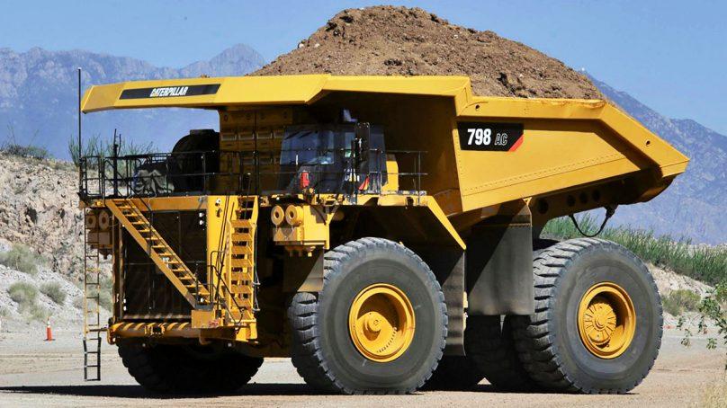 Caterpillar extiende sus opciones de accionamiento eléctrico con los modelos 798 AC y  796 AC