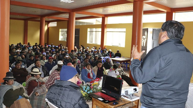 Macusani Yellowcake desea dialogar con presidente regional electo de Puno, Walter Aduviri