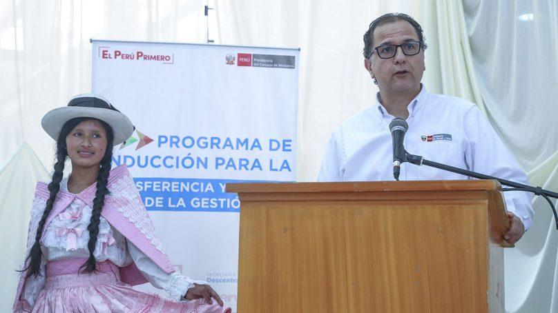 Ministro Ísmodes anuncia creación de Comité de Gestión e Información Minero Energético en Apurímac