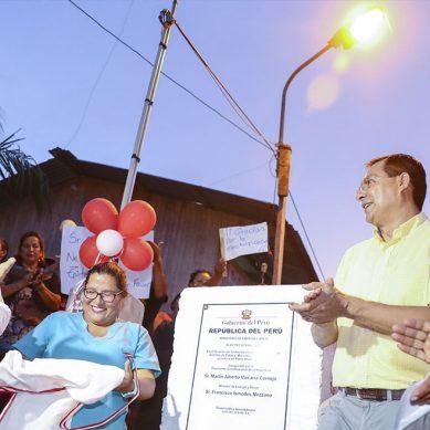 Energía eléctrica llega por primera vez a catorce asentamientos humanos de Ucayali