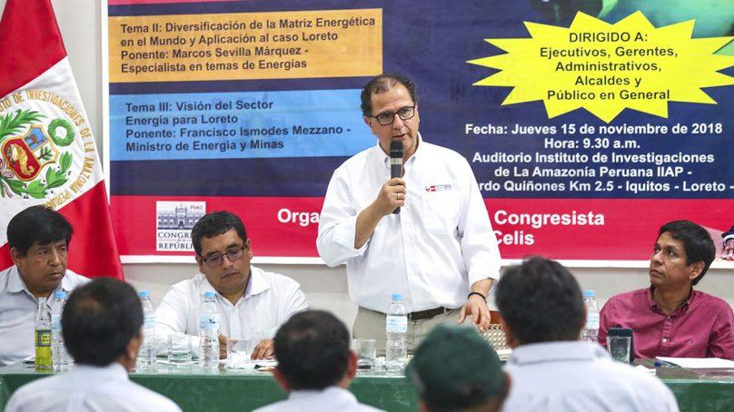 Loreto: MEM formará grupo técnico para solucionar problema energético en la región
