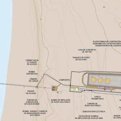 Mina Justa construirá terminal multiboyas para usar hasta 900 m3/hora de agua de mar