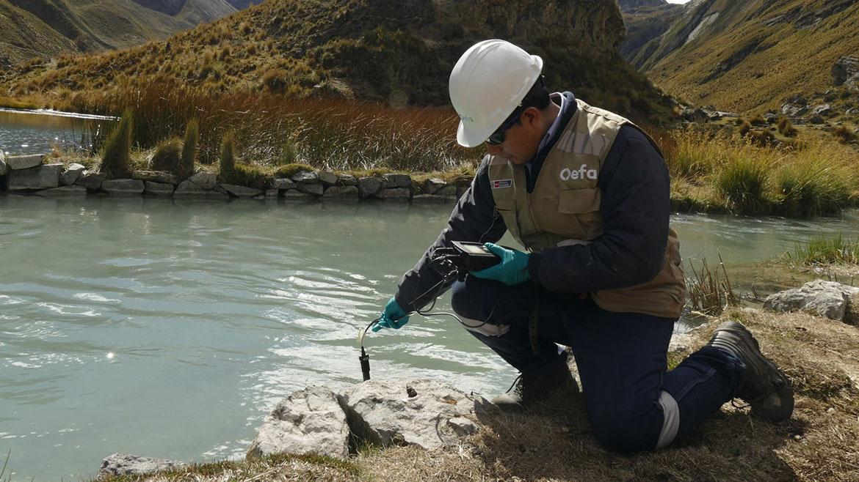OEFA afirma que discurrimiento de «una solución verdosa» de mina Cuajone ha sido detenido