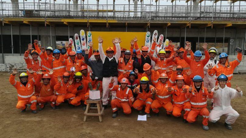 Sacyr Perú supera los 5 millones de horas de trabajo sin accidentes incapacitantes