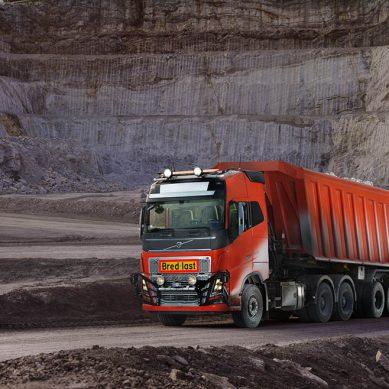 Una mina en Noruega opta por usar camiones autónomos de la marca Volvo