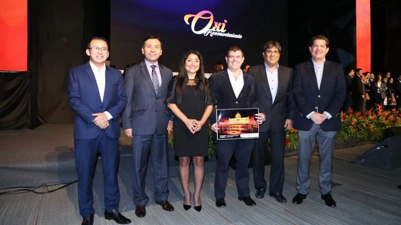 Cosapi recibe premio por innovar en la reconstrucción del Templo del Señor de Luren