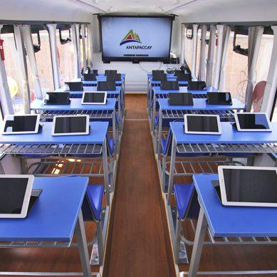 Antapaccay y Ferreyros enviarán aulas rurales móviles a Espinar para brindar educación multimedia