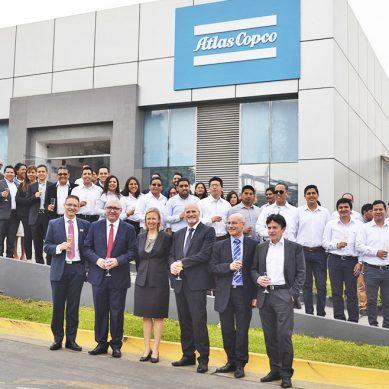 Atlas Copco inaugura oficinas para fortalecer sus operaciones en Perú, especialmente en minería