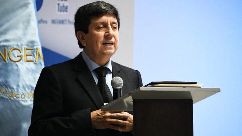 Henry Luna Córdova es nombrado presidente del Consejo Directivo del Ingemmet