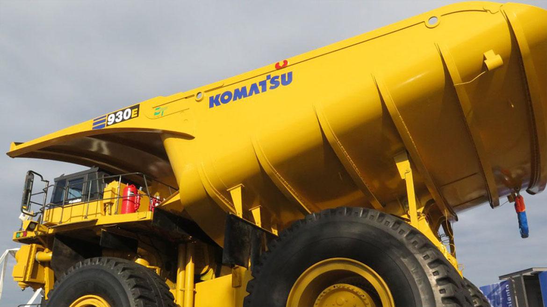 Komatsu lleva reparados 41 camiones mineros provenientes de Grasberg e incorporados a Cerro Verde