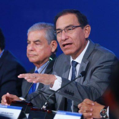 """Presidente Vizcarra a gobernadores regionales: """"Los proyectos que ustedes reciban tienen la prioridad para nosotros»"""