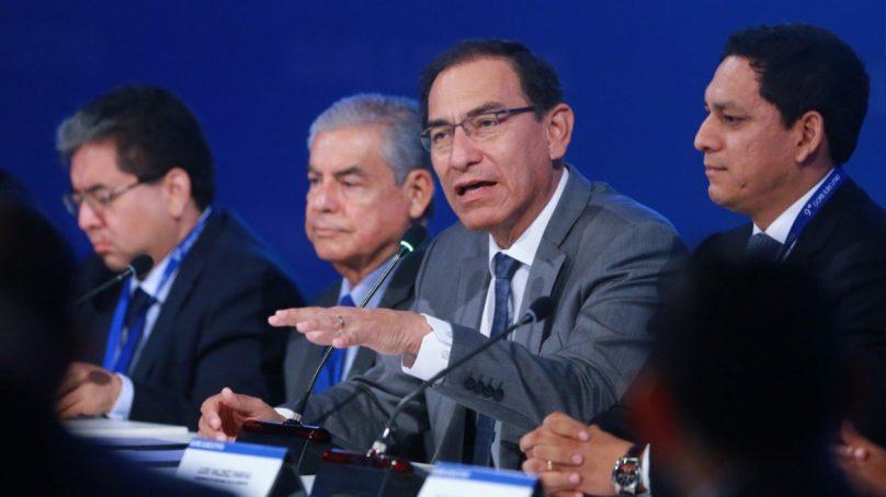 """Presidente Vizcarra a gobernadores regionales: """"Los proyectos que ustedes reciban tienen la prioridad para nosotros"""""""
