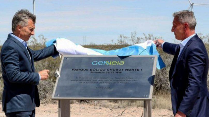 Energía eólica sopla fuerte en Argentina: Inauguran nueva central en Chubut