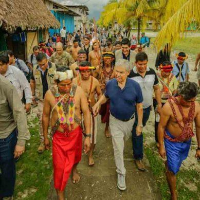 Gobierno instala mesa de trabajo para resolver históricos reclamos de comunidades del Datem del Marañón
