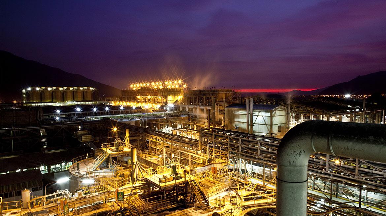 Nexa planea invertir US$5 millones en refinería de zinc Cajamarquilla