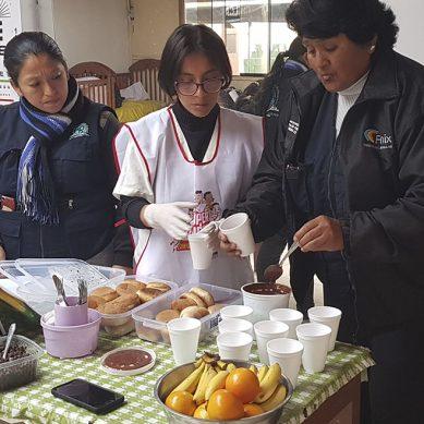 El granito de la generadora eléctrica Fenix para la lucha contra la anemia en Chilca