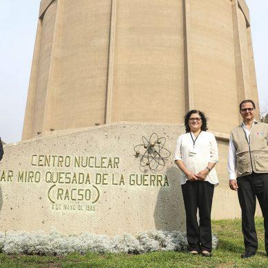 Ministro Ísmodes prepara plan de acción para fomentar investigaciones  en tecnología nuclear