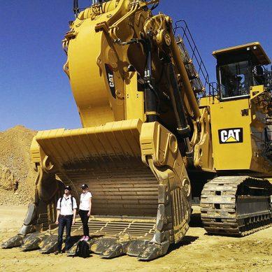 Quellaveco contará con una pala hidráulica 6060B, la primera de su tipo en Perú