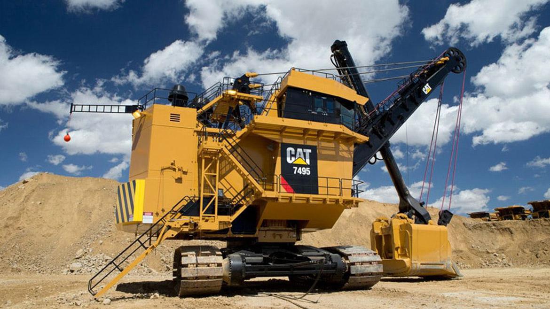 Anglo American opta por las palas 7495, los equipos CAT más grandes que existen en Perú