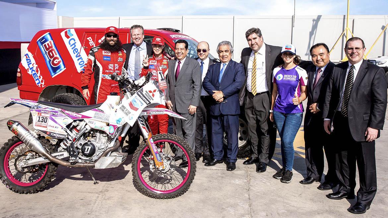 Soltrak y Chevron promueven participación de peruanas en el Dakar 2019
