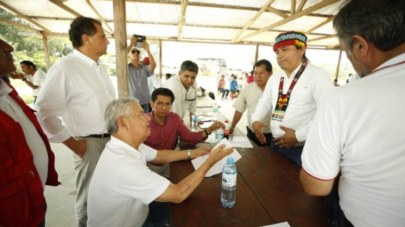 Gobierno logra acuerdo con comunidades para iniciar la reparación inmediata del Oleducto Nor Peruano