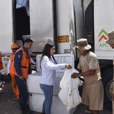 APC Corporación, contratista de Anglo American, entrega donaciones a damnificados de Moquegua