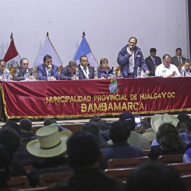 MEM intensificará remediación efectiva de pasivos ambientales en Cajamarca