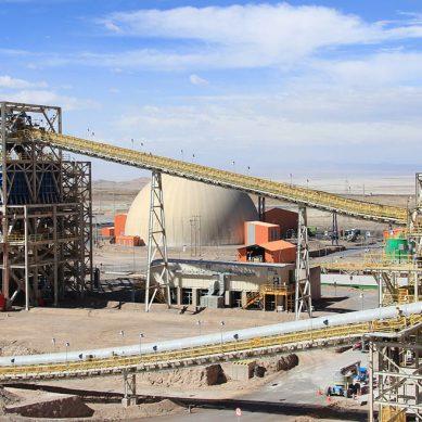 Fajas transportadoras le roban protagonismo a los camiones mineros