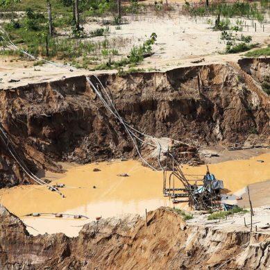Gobierno desarrolla acción decisiva contra minería ilegal con la operación  Mercurio