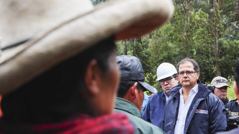 Cajamarca: Titular del MEM instala Comité de Emergencias ante incremento de lluvias