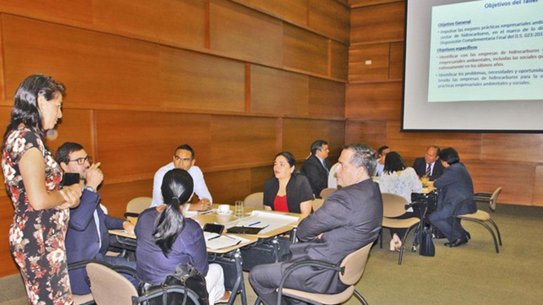 MEM promueve mejores prácticas ambientales entre empresas del sector hidrocarburos