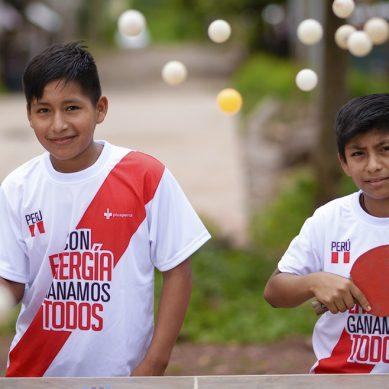 Niños del Vraem viajarán a Brasil para potenciar sus habilidades en tenis de mesa con apoyo de Pluspetrol
