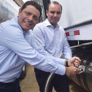 Quavii y Scania mejoran el aire que respiramos con sistema de transporte pesado a gas