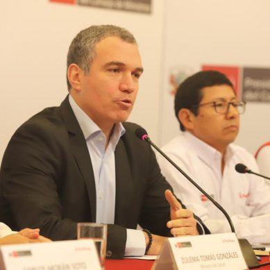 """PCM: """"Liberación del dirigente de Fuerabamba, no depende del Ejecutivo"""""""