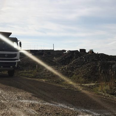 Las Bambas reanudó, de manera progresiva, el transporte de insumos para la mina