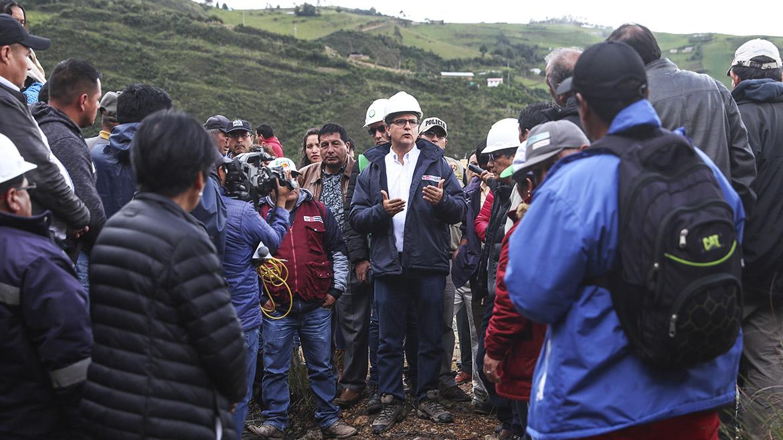Adjudican buena pro para remediación ambiental de ex unidades mineras Los Negros y Cleopatra, en Hualgayoc