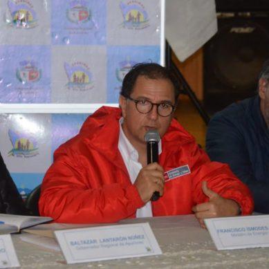 """Ministro Ísmodes: """"Promovemos el diálogo pero sin ir contra el derecho de transitar por una vía"""""""
