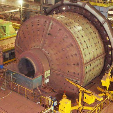 Metso Perú instala en estos momentos un molino SAG de 11 m de diámetro en Toromocho