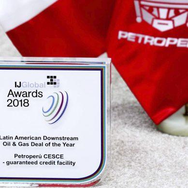 Premian a Petroperú por gestión de exitoso préstamo para nueva refinería de Talara