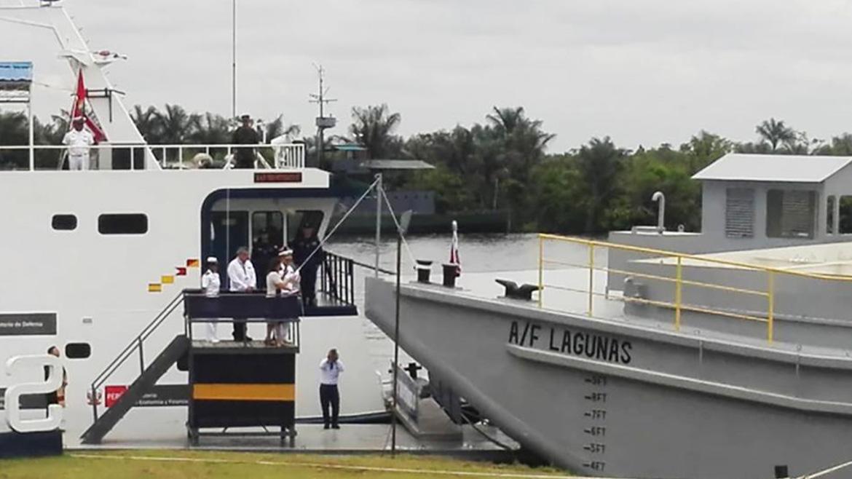 Petroperú estrena su primera barcaza de 20 mil barriles y doble casco, en Iquitos