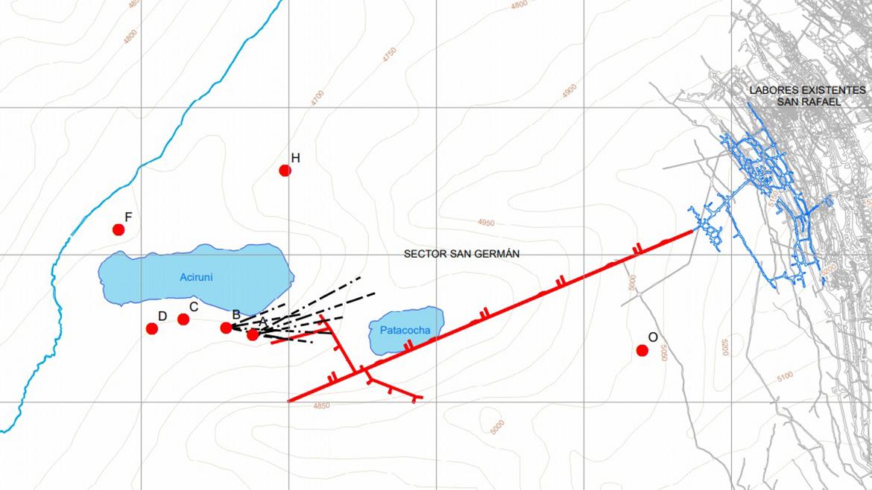 Quenamari: Minsur planea construir túnel de 1,452 metros para explorar sector San Germán