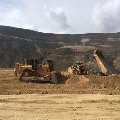 Cosapi y Epsa excavarán en Quellaveco ocho veces la cantidad de tierra que se moverá en Chinchero
