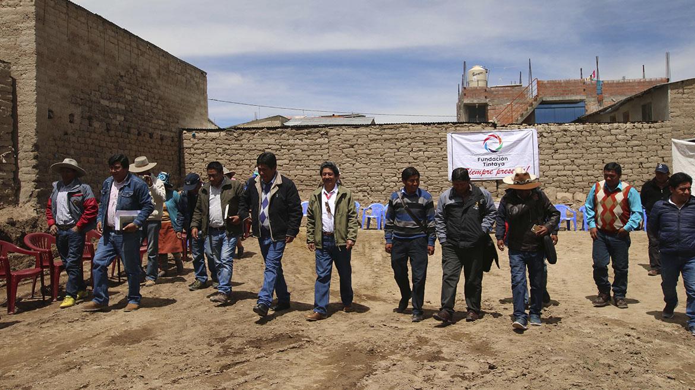 Minera Antapaccay inicia construcción de salón multiusos en provincia de Espinar