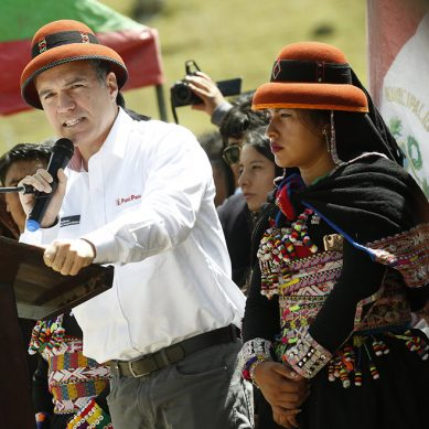 Presidente del Consejo de Ministros en Cotabambas: «Estamos aquí para no volver a estar ausentes»